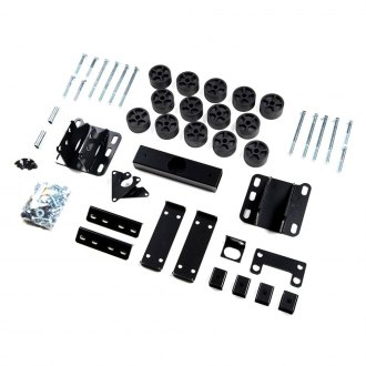 "Zone Offroad® - 1.5"" x 1.5"" Front and Rear Body Lift Kit"
