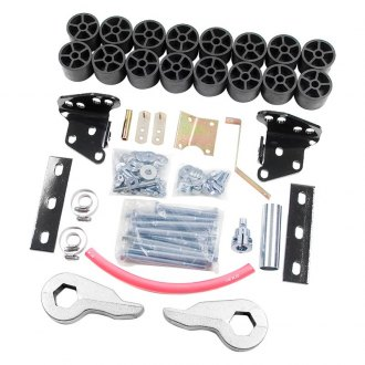 "Zone Offroad® - 4"" x 2"" Combo Front and Rear Suspension Lift Kit"