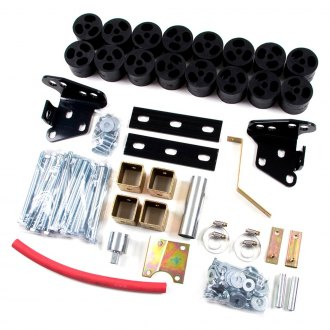 "Zone Offroad® - 2"" x 2"" Front and Rear Body Lift Kit"