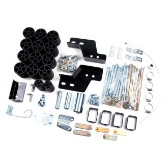 "Zone Offroad® - 3"" x 3"" Front and Rear Body Lift Kit"