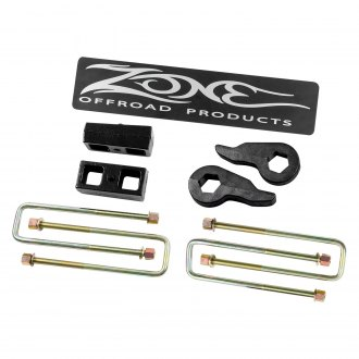 "Zone Offroad® - 2"" x 2"" Front and Rear Complete Lift Kit"