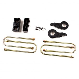"Zone Offroad® - 2"" x 2"" Front and Rear Lift Kit"