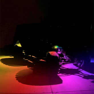 Zroadz® - Bluetooth Multicolor LED Rock Light Kit