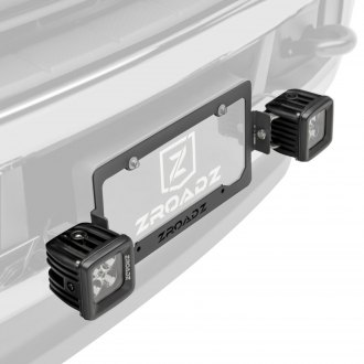 "Zroadz® - License Plate Mounted 3"" 2x20W Cube Combo Beam LED Pod Lights"