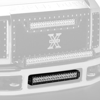 "Zroadz® - Bumper Center Opening Mounted 20"" 120W Dual Row Combo Beam LED Light Bar"
