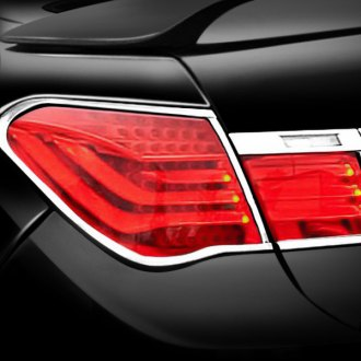 Zunden - Chrome Tail Light Bezels