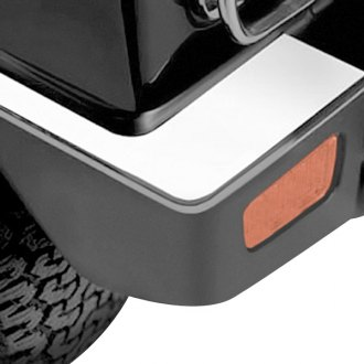 Zunden® - Chrome Rear Bumper Covers