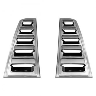 Zunden® - Chrome Rear Vent Covers