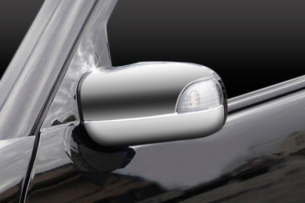 Zunden® - Chrome Mirror Covers with Light