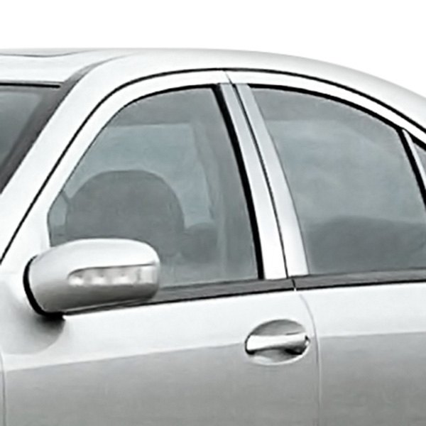 Zunden mb p trim w203 mercedes c class 2001 2007 chrome for Mercedes benz chrome accessories