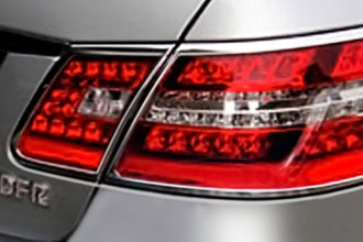 Zunden® MB-R-TRIM-W212 - Chrome Tail Light Bezels