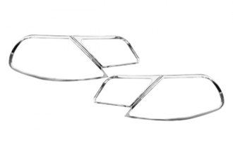 Zunden® - Chrome Tail Light Bezels