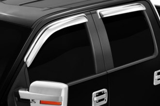 Zunden® - Chrome Window Deflectors